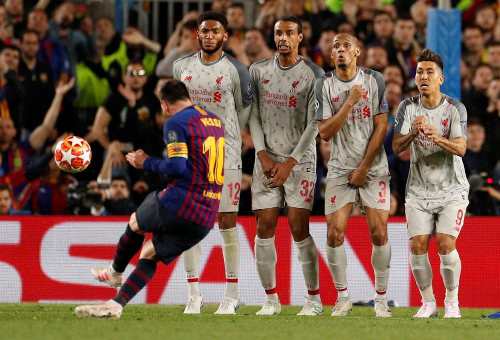 Liverpool v. Barcelona Champions League Semifinal, Leg2