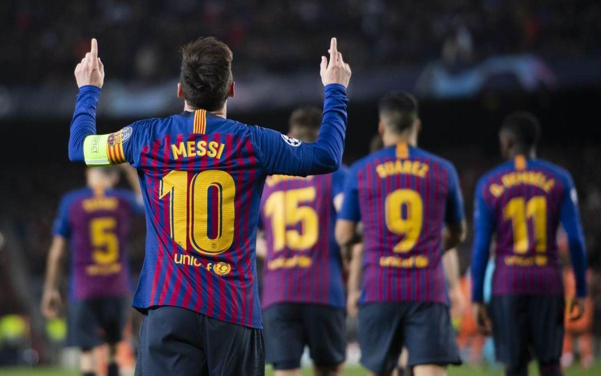 Barcelona v. Liverpool Champions League Semifinal, Leg1